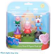 Peppa Pig Dress-Up 5 Figure Pack
