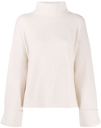 N.Peal Chunky Roll Neck Cashmere Sweater