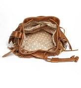 Madden-Girl Kendall & Kylie Fringed Fabric Bucket Bag (Juniors)