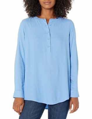 Amazon Essentials Women's Long-Sleeve Woven Blouse