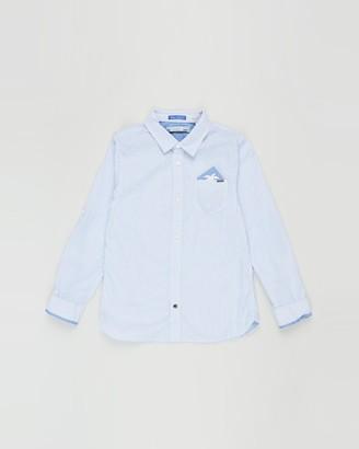 Scotch Shrunk Regular Fit Blue Series Shirt - Teen