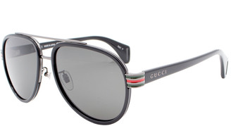 Gucci Unisex Gg0447s 58Mm Polarized Sunglasses