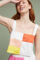 Mara Hoffman Patchwork Cropped Cami
