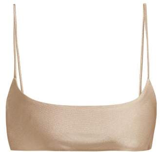 JADE SWIM Muse Scoop Bikini Top - Womens - Nude