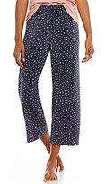Sleep Sense Star-Print Cropped Sleep Pants