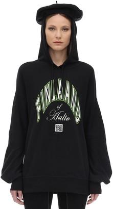 Aalto Printed Cotton Sweatshirt Hoodie