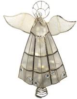 Kurt Adler Capiz Angel Tree Topper
