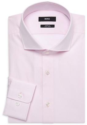 HUGO BOSS Sharp-Fit Long-Sleeve Dress Shirt