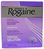 Rogaine Hair Regrowth Treatment for Women, 2 Ounce (Pack of 3)