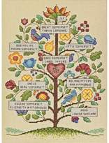 Dimensions Counted Cross Stitch Kit - Vintage Family Tree