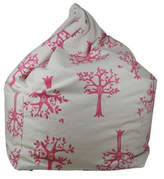 Pink Orchard Kids' Bean Bag