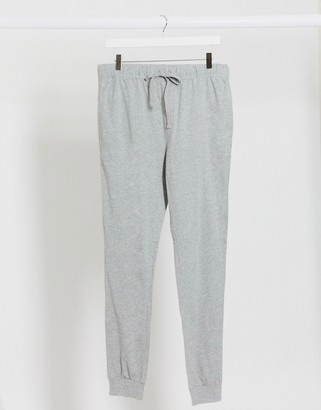 ASOS DESIGN lounge pyjama joggers in grey marl