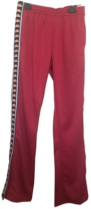 Ellesse Red Trousers for Women