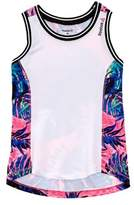 Reebok Girls' White Pep Squad Tank.