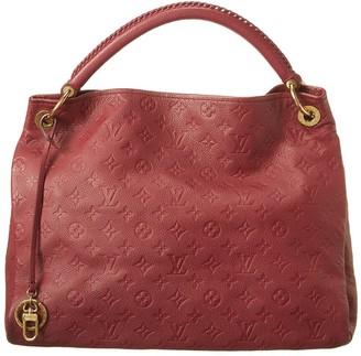 Louis Vuitton Burgundy Monogram Empreinte Leather Artsy Mm