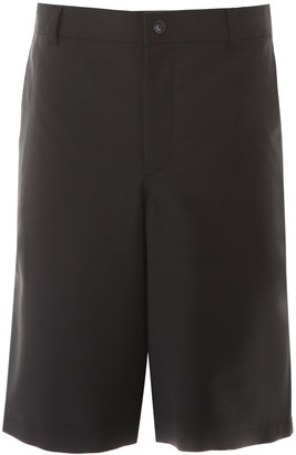 Burberry Bermuda Shorts With Cut-out
