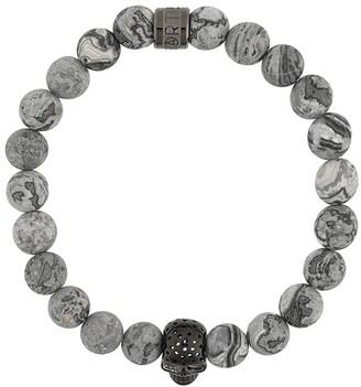 Northskull Skull And Rock Bracelet