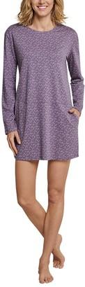 Schiesser Women's Sleepshirt 1/1 Arm 90cm Nightgown