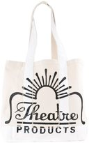 Theatre Products logo canvas shopper tote - women - Cotton - One Size