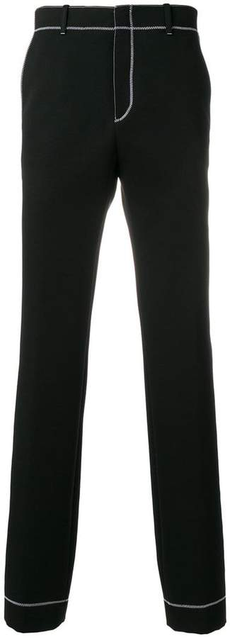 Givenchy contrasting stitching jogging pants