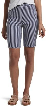 Hue Women's Ultra Soft High Waist Bermuda Shorts