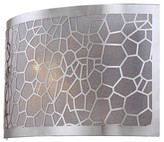 Lite Source Kyra Sconce Wall Light - Silver