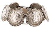 Gianni Versace Medusa Head Link Bracelet