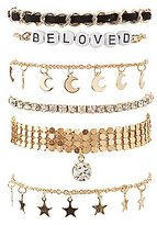 Charlotte Russe Beloved Layering Bracelets - 6 Pack