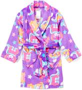 Komar Kids Purple Puppy Robe - Girls