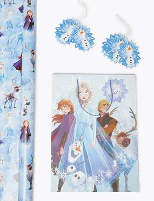 Marks and Spencer Disney Frozen 2 Christmas Wrapping Paper, Gift Bag & Tags Collection