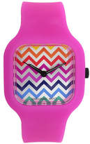 JCPenney FASHION WATCHES Womens Multicolor Strap Watch-13467