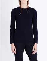 Max Mara Figlio crewneck wool and cashmere-blend jumper