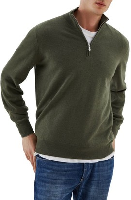 Brunello Cucinelli 2-Play Cashmere Zip Sweater