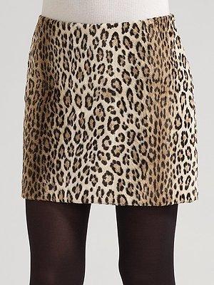 Zyrca Milly Faux-Cheetah Skirt
