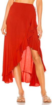 Indah Reese Wrap Skirt
