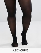 Asos 60 Denier Tights With Bum Tum And Thigh Support