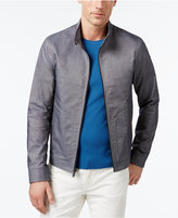Michael Kors Men's Harrington Canvas Jacket