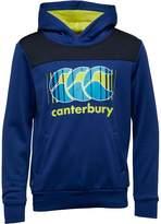 Canterbury of New Zealand Junior Fleece Hoody Mazarine Blue