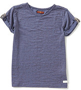 7 For All Mankind Big Girls 7-16 Slouchy V-Neck Tee