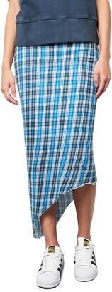 Frank And Eileen Asymmetrical Long Maxi Skirt