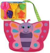 Stephen Joseph Butterfly Beach Tote in Pink