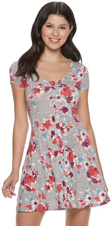 353fe8bb7b2 Juniors Gray Dress - ShopStyle