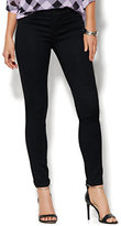 New York & Co. Soho Jeans - SuperStretch Legging - Black - Petite
