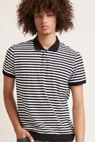 21men 21 MEN Striped Polo Shirt