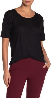 Diane von Furstenberg Lalita Scoop Neck T-Shirt