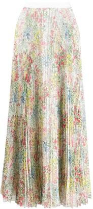 Giambattista Valli Chiffon Pleated Skirt
