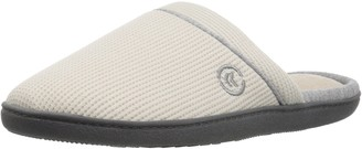 Isotoner Women's Waffle Knit Clog Slippers Taupe