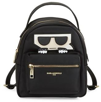 Karl Lagerfeld Paris Amour Nylon Backpack