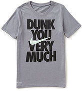 Nike Big Boys 8-20 Dunk You Very Much Tee