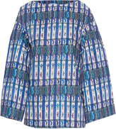 Stella Jean Controller textile-print cotton top